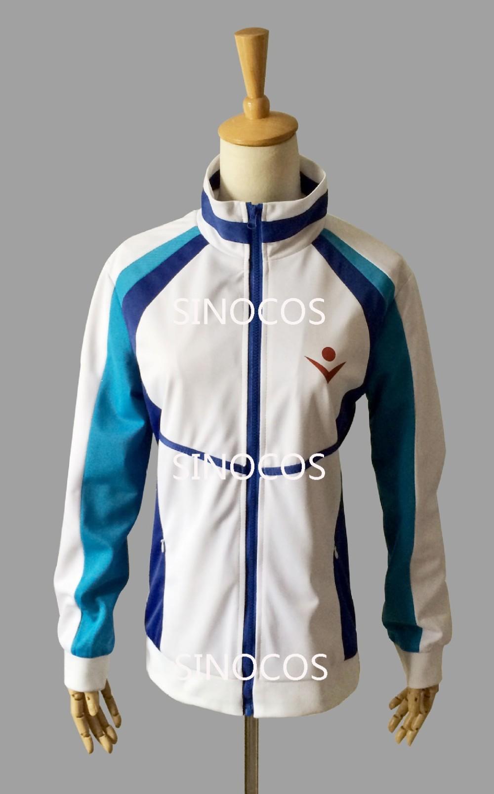 Iwatobi Swim Club Cosplay Haruka Nanase School Sprot Coat//Jacket m-xxl New Free
