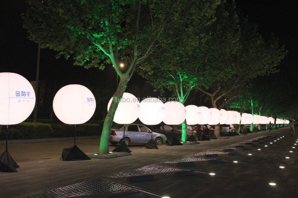 Led Light Advertising Balloon For Event Pvc Inflatable Lighted Balloon Buy Pvc Inflatable