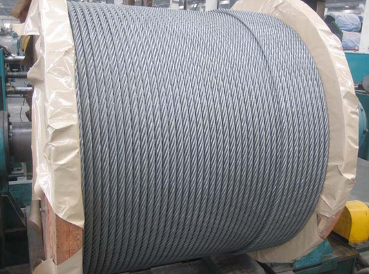 Factory hot sales winding steel wire rope