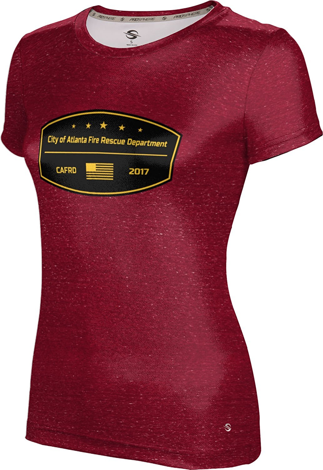 ProSphere Girls' City Of Atlanta Fire Rescue Department Fire Department Heather Shirt