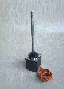 Throaded rod shaft nema 8 micro linear stepper motors high for Threaded shaft stepper motor