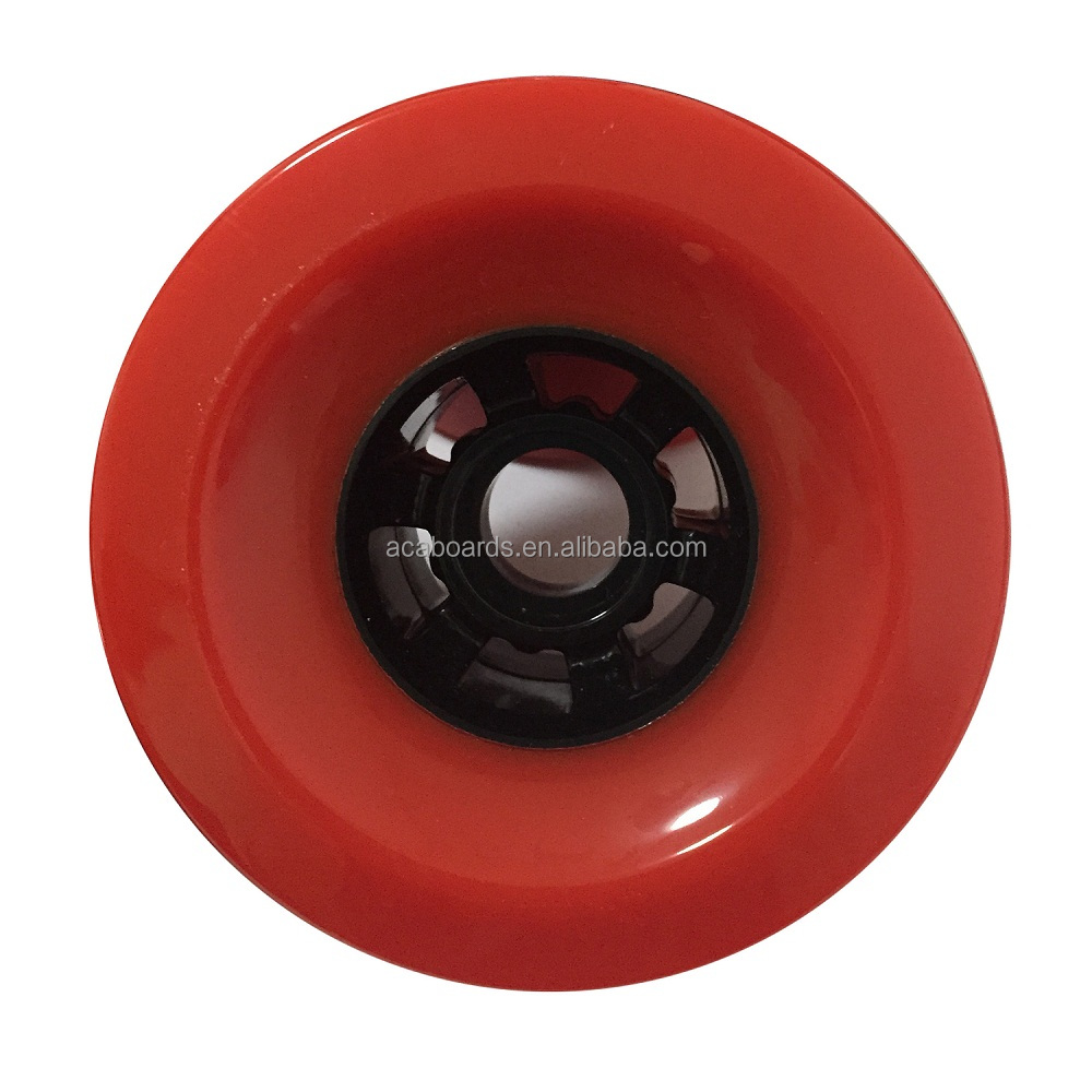 Wholesale longboard wheels 97mm for electric longboard skateboard giant convave wheels