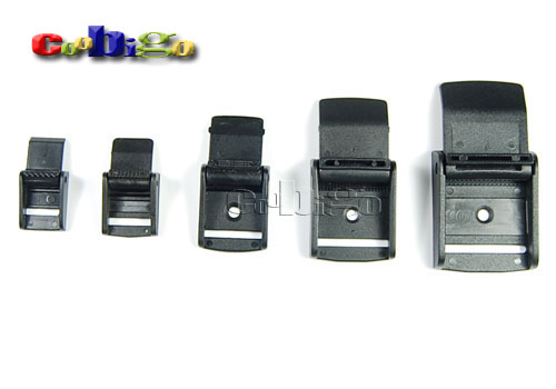 Cam Buckles Plastic Black Toggle Clip Backpack Straps Webbing #FLC011-A1/A2/A3/A4/A5/A6/A7/DarkKhaki