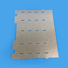 High Temperature [ Mica Sheet Parts ] Silver Golden Mica Sheet For Heat Equipment / Insulation Sheet Parts
