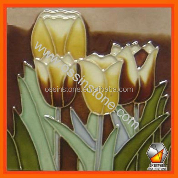 Hand Painted Decoration Ceramic Wall Tiles