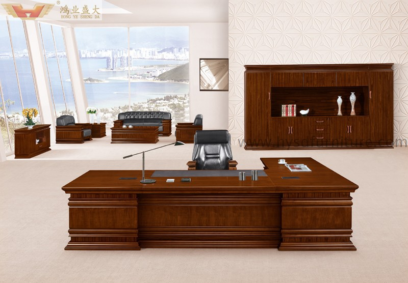 Competitive Price Luxury Office Executive Desk For Manager