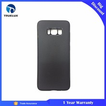 Truelux TPU Carbon Fiber Case for Samsung Galaxy S7 Edge Cell Phone Cover