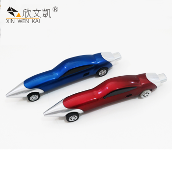 Chinese Factory Custom Logo Ballpen Novelty Car Shape Cartoon Pen For Children