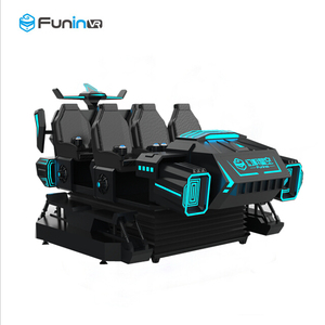 Entertainment machines New generation Tech cool 9d vr simulator 6 Seats VR dark mars Cinema Simulator 9D VR