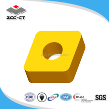 ZCCCT Zhuzhou Cemented Carbide Cutting Tools CNMA or CNMM turning inserts