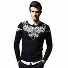 New Design Custom Knit Nylon Pullover Sweater Men