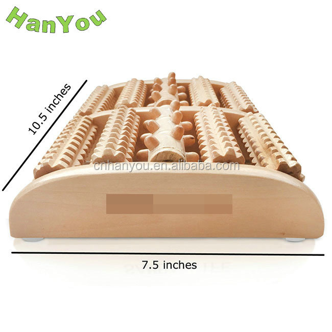 New & Hot Foot Massager Roller Wood