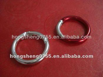 Promotion Aluminium Round Carabiner Keyring Carabiner Metal
