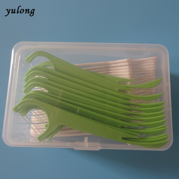 35 pcs in a plastic container ,toothpick