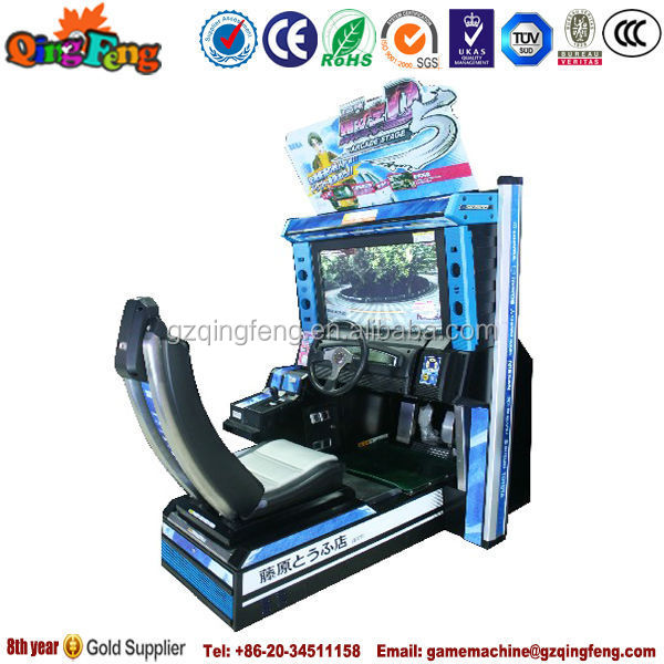Exiting Racing Game Machine,Motor Car Racing Machine,Two Player ...