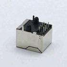 1 port good quality cheap price Vertical amp 10 pin rj45 connector jack
