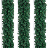 Christmas craft product,christmas evergreen garland for sale