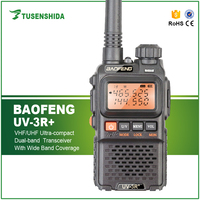 HOT SALE Baofeng UV 3R plus Dual Band FM Interphone talkie walkie UHF VHF Amateur Two Way Radio With VOX function