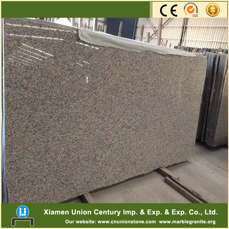Polished tiger skin white granite