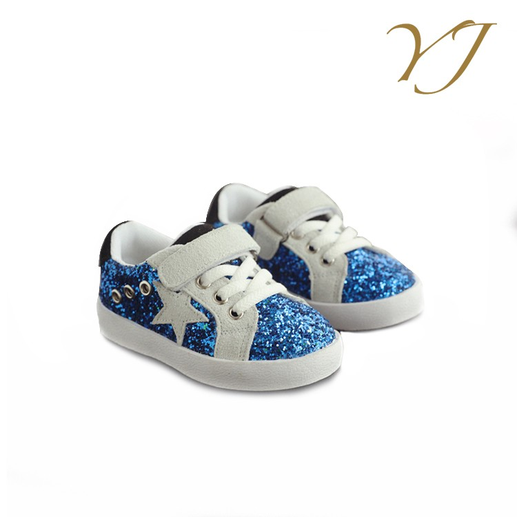 Wholesale cheap price kids boys slip on sneakers sale boys shoes with Sequins