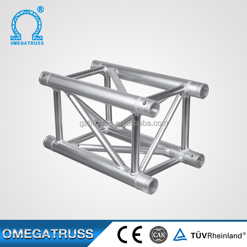 Light quality 500kg 6082 T6 aluminum roof truss system for exhibition