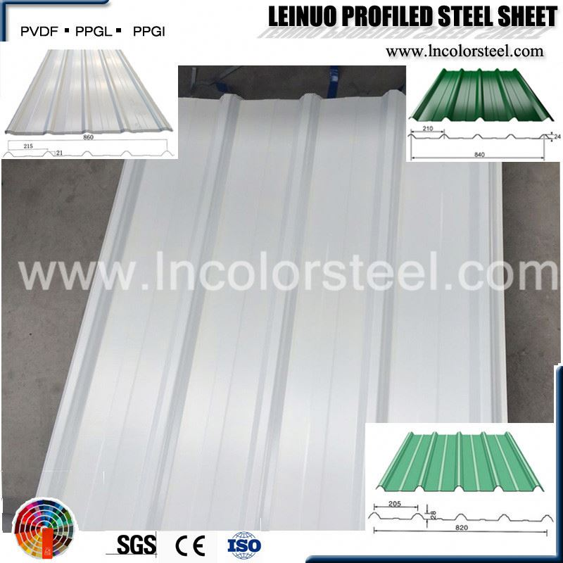 width 820mm color coated galvanized steel sheet price in china
