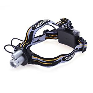 (HQ Product) Double Tube Double Bulbs LED Headlamp Outdoor Bicycle Headlight