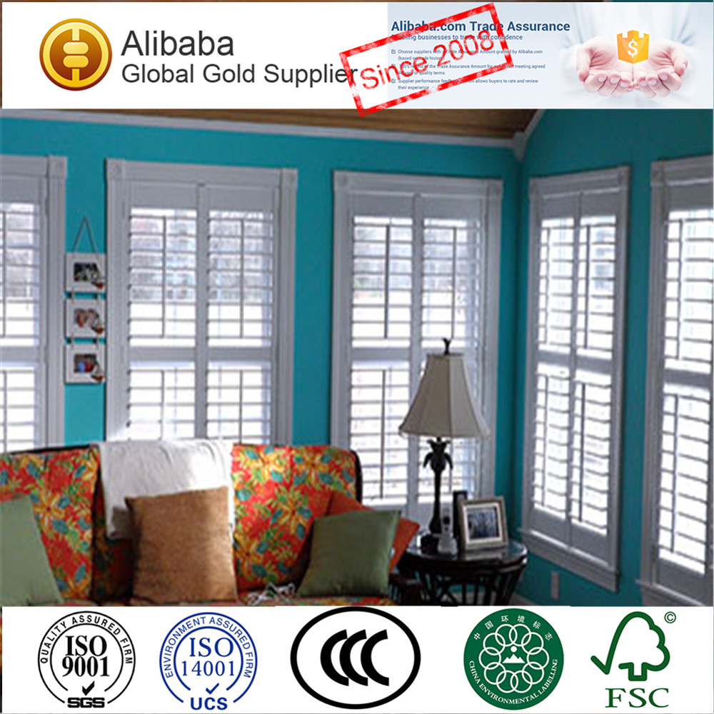 Inside Window Shutters With Tilt Bar 89 Mm Louver T Post Z Frame Plantation Shutters Buy Inside Window Shutters Wood Shutters For Living Room Arch
