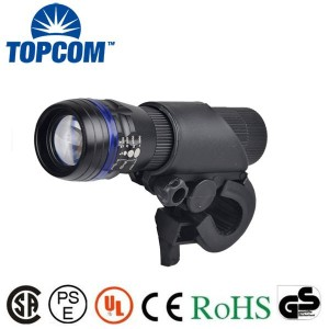 Zoom1W bike led light with universal handle bar bracket/Bike Cycling LED Bicycle Light