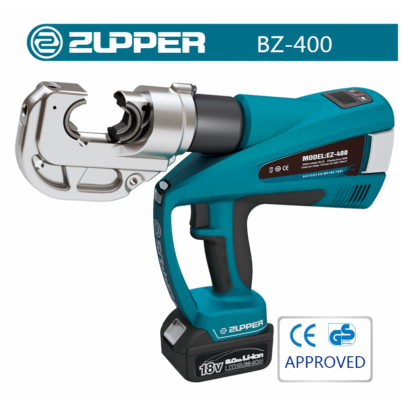 Zupper BZ-400 Hydraulic Cable Lug Crimping Tool