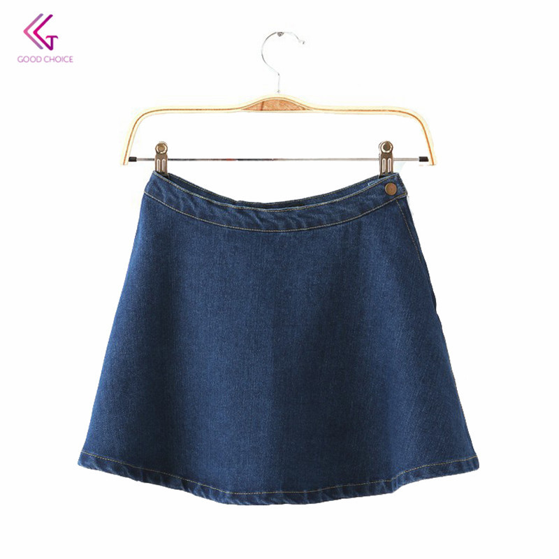 c7e8605fcffcf Buy Women's Jeans Flared Skirt Ladies Vintage Fit And Flare ...