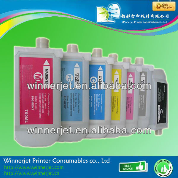 2014 hot selling refill ink cartridge for Canon ipf 8100 9100 Canon 701 702