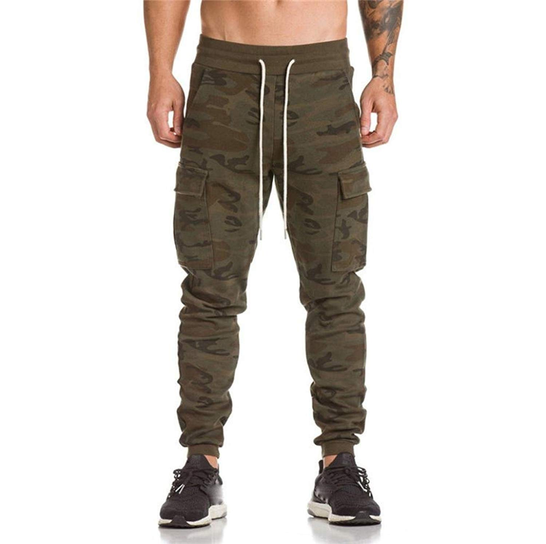 Amiley Sweatpants Men, Men Trousers Harem Sweatpants Slacks Casual Jogger Dance Sportwear Baggy