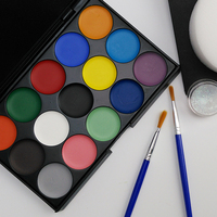 Temporary Multi-Color Face Painting kits set, Washable Face Painting Stencils For Drawing On Face And Skin