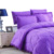 kosmos solid color AB reversible with printed cotton wholesale quilted comforter set