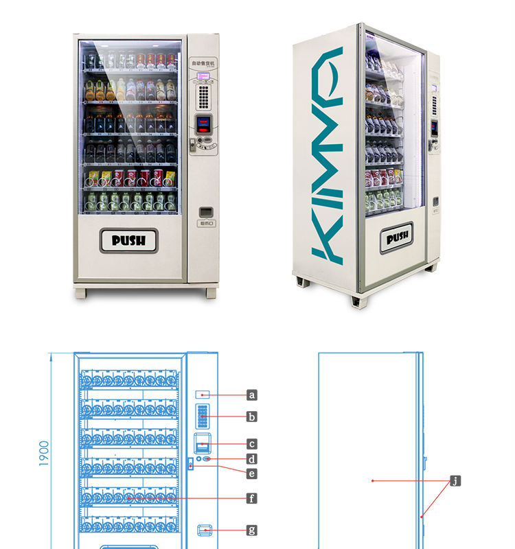 Contact Lenses Vending Machine With Cooling System - Buy Contact Lenses  Vending Machine With Cooling System,Control Systems Vending Machine,Snack