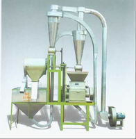 6FD-60 serie flour mills corn flour food processing machine price Stainless layout plant