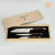 Yangjiang factory sale 3pcs stainless steel laguiole kitchen knife set