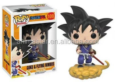Funko POP Dragon Ball Goku & Flying Nimbus Anime action Figures 109#