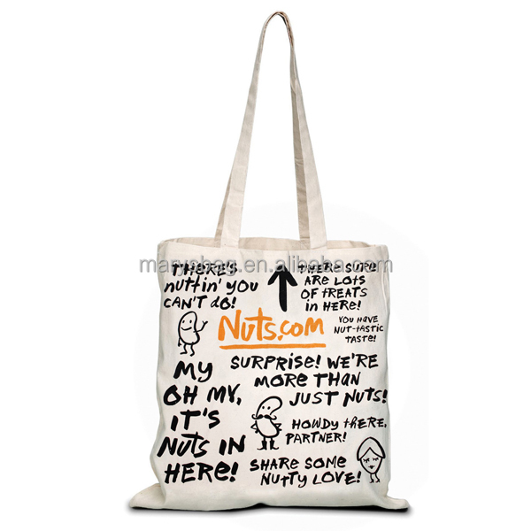 Full Bleed Natural Canvas Convention Tote Bag 0ffdaabef5119