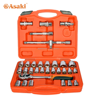 AK-9772 32 pcs 1/2 inch high grade socket tool set