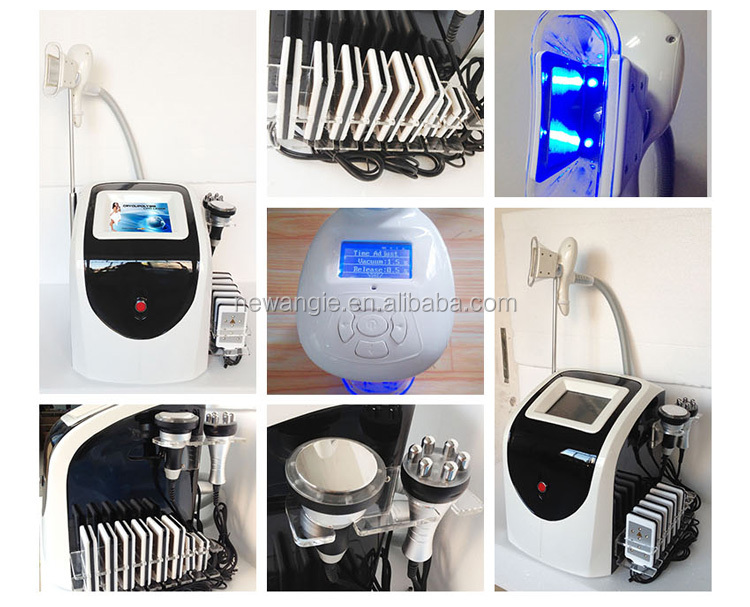 BMS01 new arrival 5 in 1 cryo cavitation rf loss weight cavitation slimming