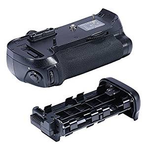 Neewer® Meike Vertical Battery Grip Replacement for Nikon MB-D12 Works with EN-EL15 Battery Or 8AA Batteries for Nikon D800 D800E Digital SLR Cameras