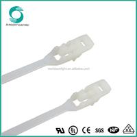 XLC-280RLT nylon double loop releasable cable tie