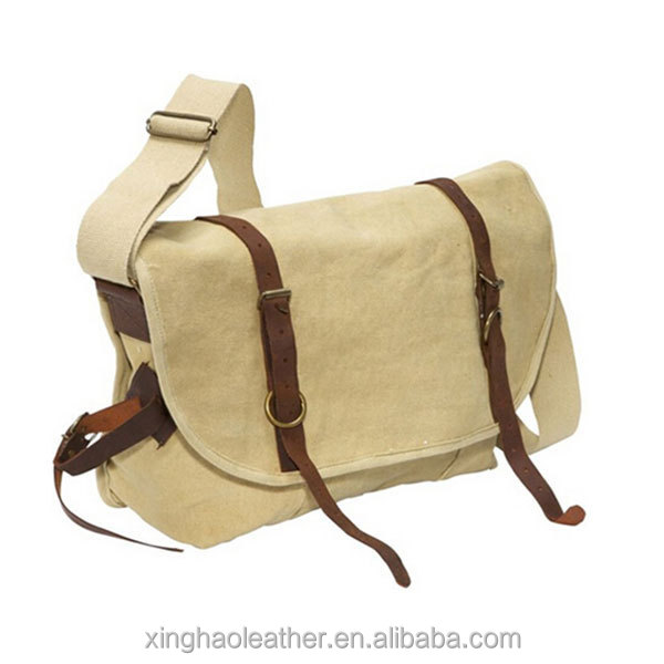 School Student Messenger Bag College Boys Shoulder Bags Nice High Quality Canvas
