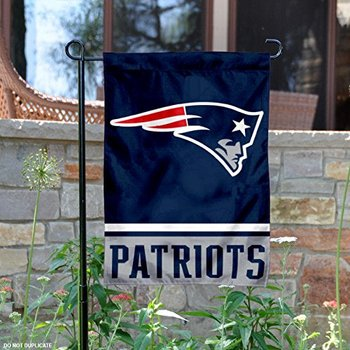 Custom 32 NFL team design garden flag NFL New England Patriots Double Sided Garden Flag