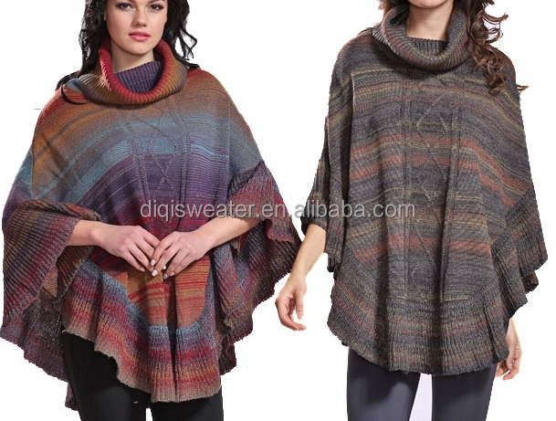 italian fashion clothes women poncho sweater italian