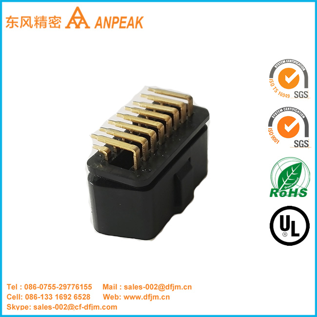 Most Competitive Price right angle terminals obd2 connector male to female