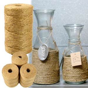wholesale Factory supplied New Products 100% natural 90m Retro hemp rope Jute Twine for Outdoor Use