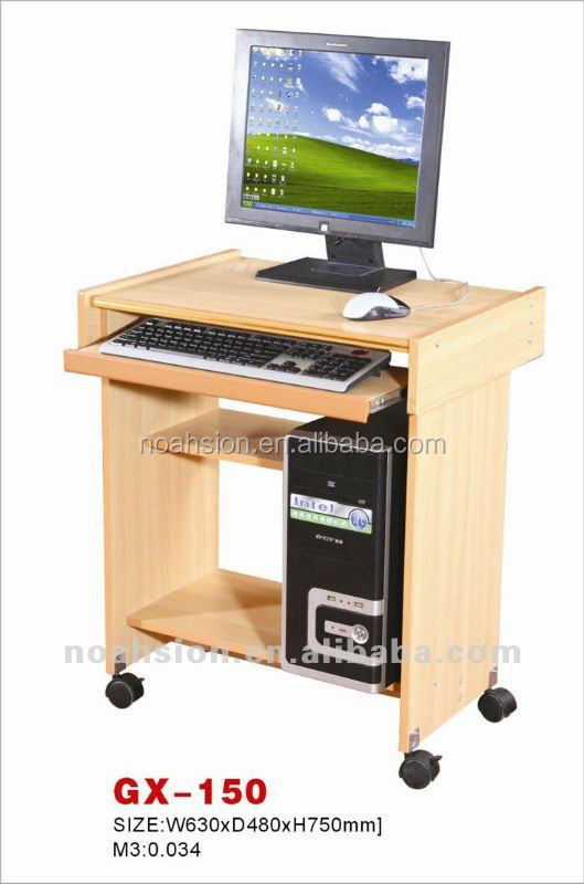 A Single Computer Table For Sell   Buy Computer Table Design,Cheap Wooden  Computer Desk,Computer Desk With Bookshelf Product On Alibaba.com